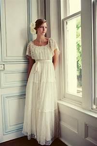 Robe Mariage Dentelle : la robe de mari e vintage les meilleures variantes ~ Mglfilm.com Idées de Décoration