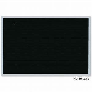 Open face letter board 18w x 12h custom options for Felt letter board replacement panel