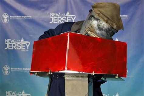 keel laying held  submarine  jersey  call