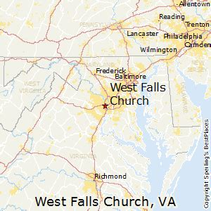 places    west falls church virginia
