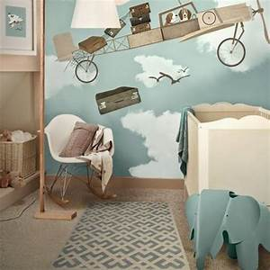 chambre bebe garcon theme modern aatl With decoration chambre bebe theme jungle