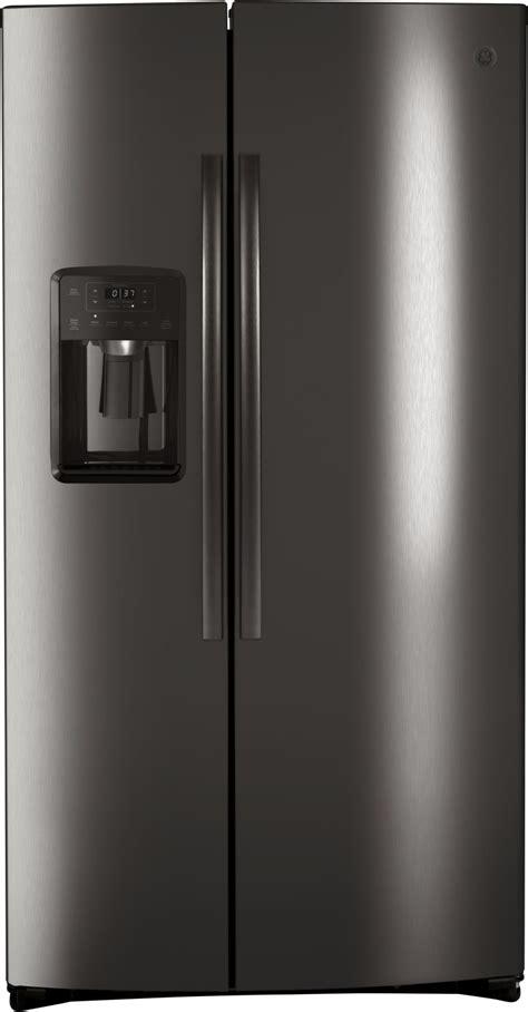 ge gzsibnts   side  side refrigerator  led lighting