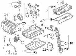 2011 Vw Jetta Gas Engine Diagram : 2011 volkswagen jetta adapter oil filter hsng 2 5 liter ~ A.2002-acura-tl-radio.info Haus und Dekorationen