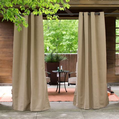 1000 ideas about sunbrella outdoor curtains on