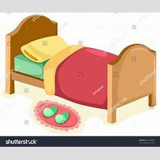 Illustration Isolated Children Bed On White Stock Vector 51433003 Shutterstock