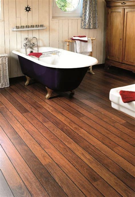 houten vloer in de badkamer step vochtbestendige laminaat vloeren laminaat