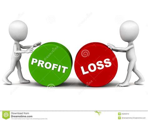 profit loss profit and loss stock illustration illustration of 29260373