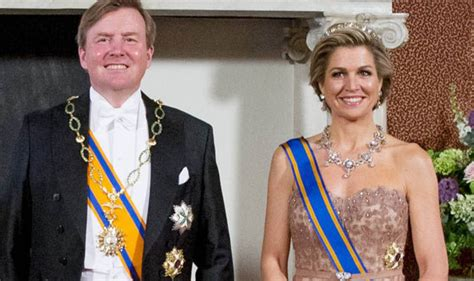 Glamorous Queen Maxima Netherlands Sparkles Pink