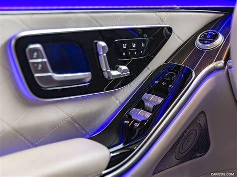 More info about the car: 2021 Mercedes-Benz S 500 4MATIC AMG Line - Interior, Detail | Wallpaper #309 iPad | 1024x768