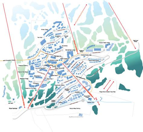 map ski resort canada sno travel maps