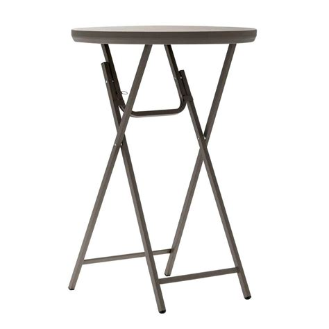 5ft folding table target cosco commercial heavy duty resin 2 5 ft round folding
