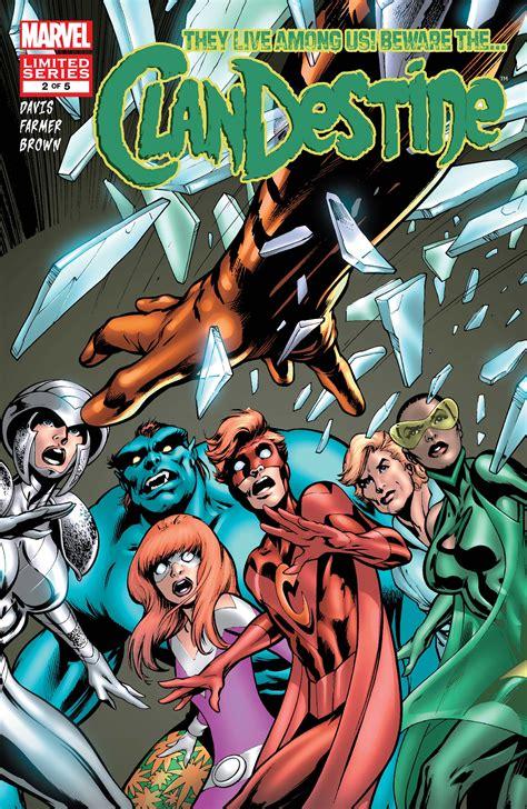 Clandestine (2008) #2   Comic Issues   Marvel