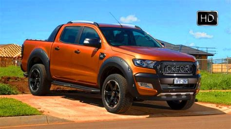 2017 Ford Ranger Wildtrak Tuned By Tickford Design & Road