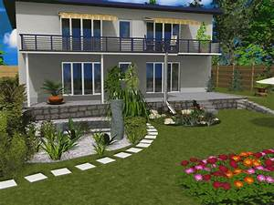 3d traumgarten designer download sharewarede With französischer balkon mit garten software freeware