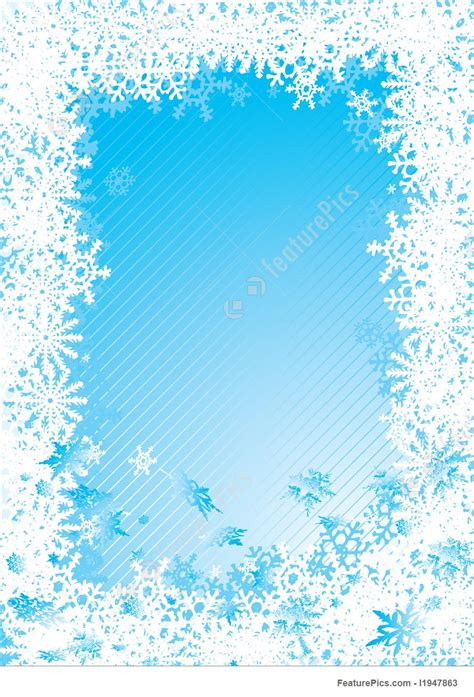 templates snowflake fall cold stock illustration