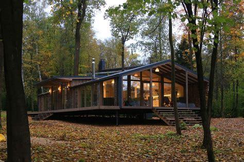 prefab cabin  built   days