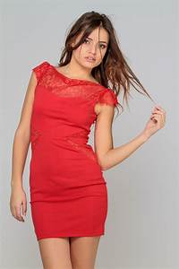 Robe rouge courte classe all pictures top for Robe rouge classe