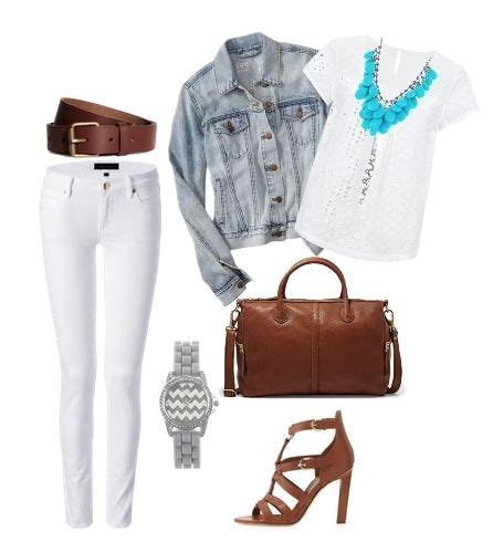 Cute Outfit Ideas of the Week #28 - The Denim Jacket   Mom Fabulous