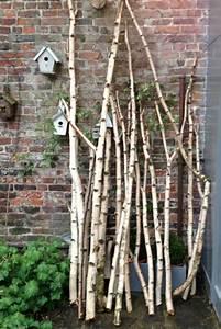 Branche De Bois Deco : bois de bouleau et d co voir ~ Teatrodelosmanantiales.com Idées de Décoration
