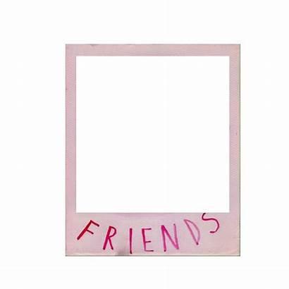 Polaroid Friends Frame Icon Pantalla Plantillas Gemerkt