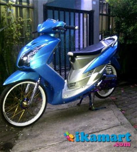 Modifikasi Mio Soul Biru by Modifikasi Mio Soul Biru Modifikasi Motor Kawasaki Honda