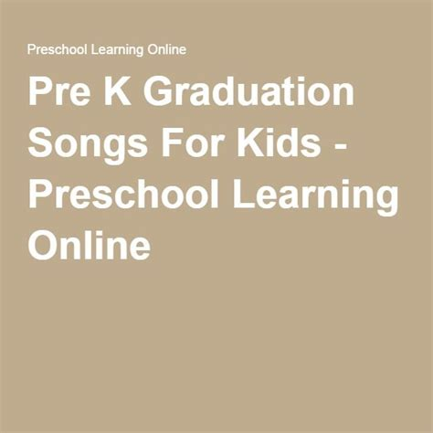 preschool graduation songs for slideshow 149 best images about vpk graduation on 870