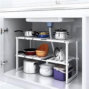 Etagere De Rangement Cuisine : cuisine maison rangements sous vier d couvrir des ~ Premium-room.com Idées de Décoration