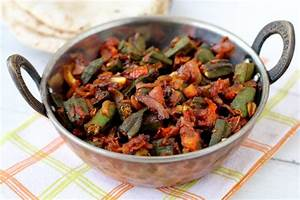 Bhindi masala recipe, hotel style North Indian bhindi ...