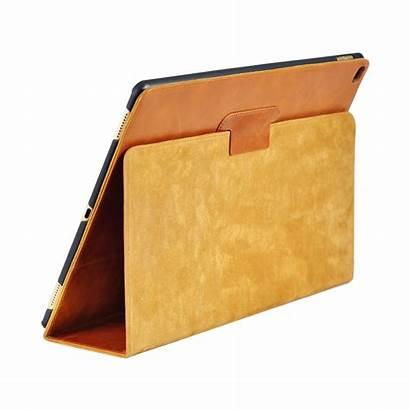Ipad Case Pro Leather Genuine Brown Apple