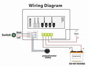Digital Display Led 6v 12v 24v 6a 8a Pwm Dc Motor Speed Controller Variable Speed Regulator