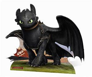 Toothless How To Train Your Dragon 2 huge CARDBOARD CUTOUT
