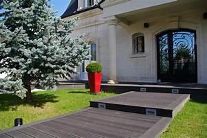 entree de jardin moderne perfect entree de jardin moderne With ordinary entree de jardin moderne 0 devant de maison epure