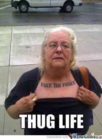 Granny Meme - gangster granny funny humor pinterest