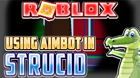 aimbot  strucid roblox exploiting video  youtube