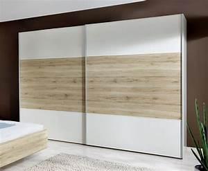 Kleiderschrank Weiß 200 Cm : kleiderschrank mit zwei schiebet ren z b in wei swansea ~ Bigdaddyawards.com Haus und Dekorationen