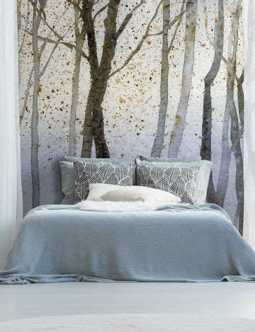 bedroom decor ideas  wallpaper   bed