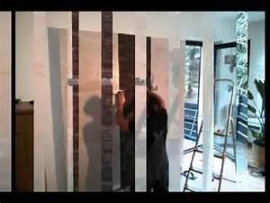 Led tv wand selber bauen mit led hintergrund youtube for Markise balkon mit led wand tapete