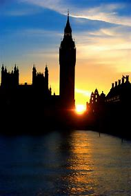 Big Ben Sunset London