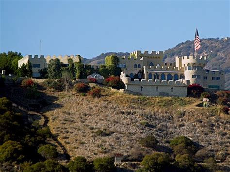 Kashan Castle Malibu Ca Before The Soca Wildfires By