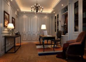 neo classical style interior design study
