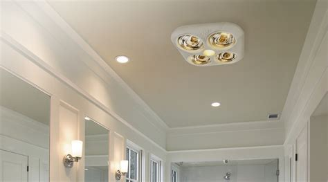 bathroom ceiling heat ls lighting and ceiling fans