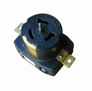 Marinco Cs6369 3 Pole Locking Receptacle  250 Volt