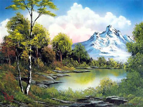 Bob Ross Landscape Paintings