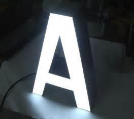 Illuminated Channel Letter Signs
