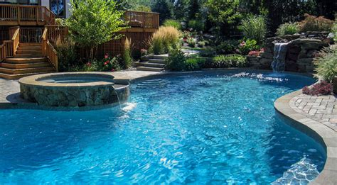 picture of swimming pool pool design nj clc landscape design