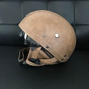 2017 Motorcycle Helmets vintage For Harley Half Helmet ...