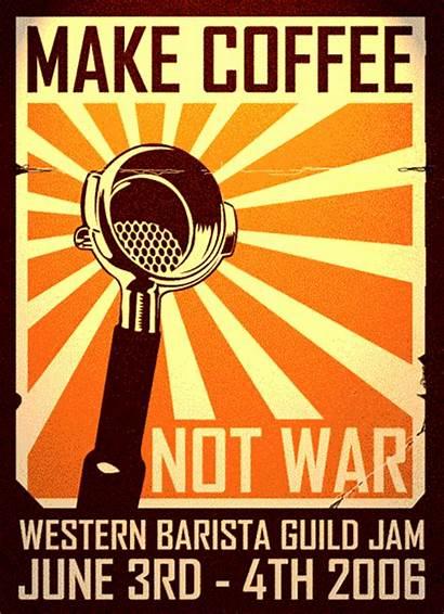 Coffee War Barista Poster Got Hi Res