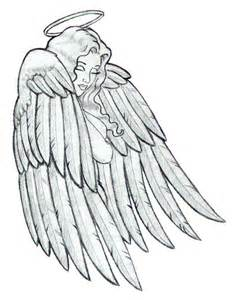 Sad Angel Drawings Tattoos