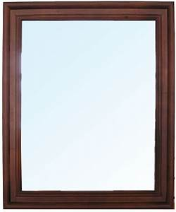 framed bathroom mirror mirrors extraodinary wooden With kitchen cabinets lowes with framed succulent wall art