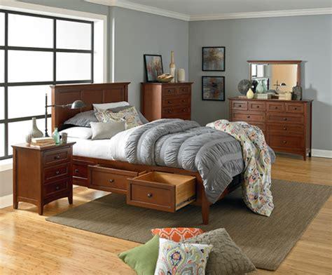 mckenzie queen storage bed gac whittier wood